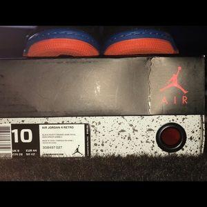 """Authentic Jordan """"Cav 4"""" w/original box"""